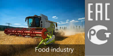 EAC certification for the food industry