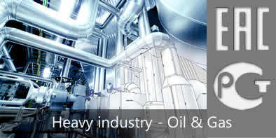 EAC certification machinery, oil and gas